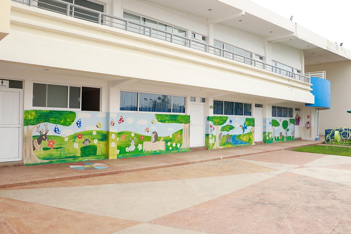 Instalaciones Colegio San Ángel Poza Rica